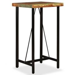 Table de bar Industrielle Bois recuperation massif