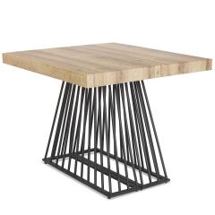 Table extensible Industrielle Fifty Bois