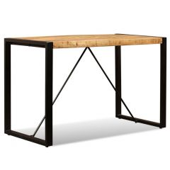 Table salle a manger industrielle Betty 120 cm