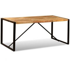 Table salle a manger industrielle Betty 180 cm