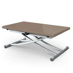 Table basse modulable Upfacil taupe laqué