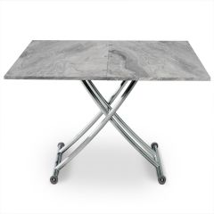 Table basse modulable Upfacil effet marbre