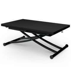 Table basse modulable Upfacil noir carbone